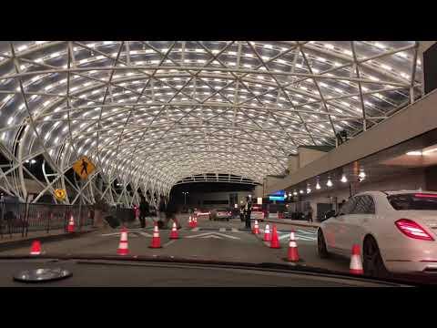 Atlanta Airport North Terminal Canopy At Night