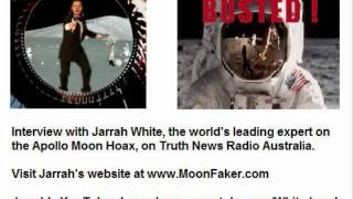 Moon Hoax Expert Jarrah White Interview on Truth News Radio