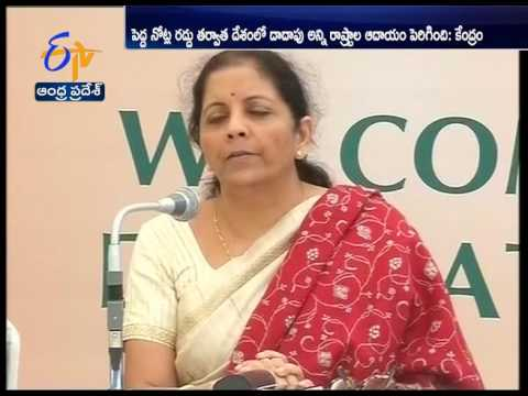Nirmala Sitharaman hails 'historic' demonetisation drive by PM Narendra Modi