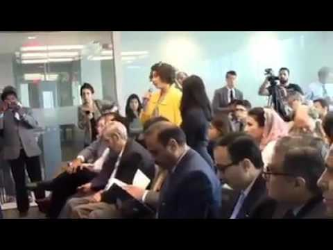 When pakistan ambassador ridiculed in a conference in usa