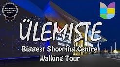 ÜLEMISTE Shopping Centre | Walking Tour 4K | Biggest Mall in Tallinn