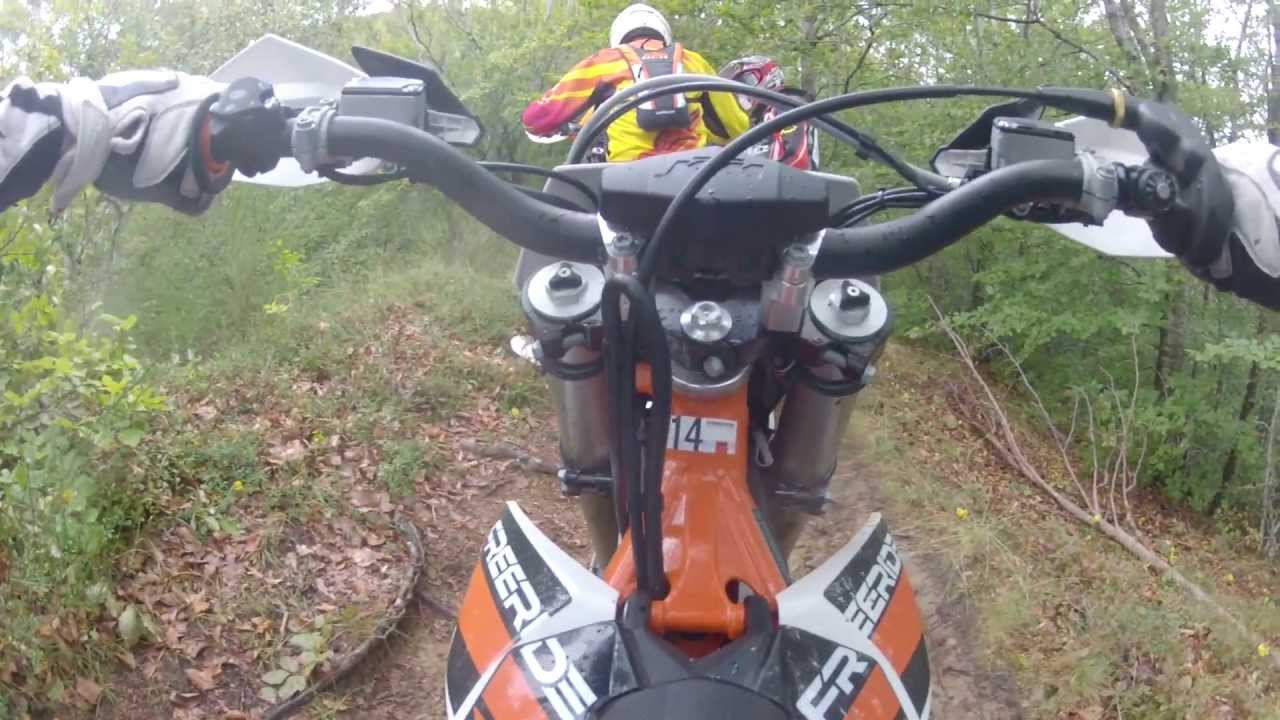 ktm freeride 250 r first ride with gopro - youtube