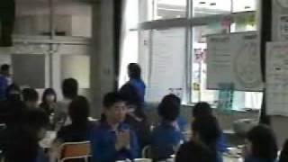 市長の学校給食訪問(上平小学校)