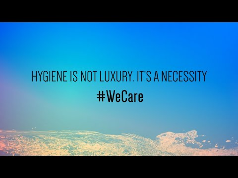 Hygiene is not luxury. It's a necessity #WeCare