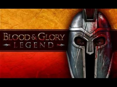 BLOOD & GLORY: LEGEND -гладиаторские бои  на Android ( Review)