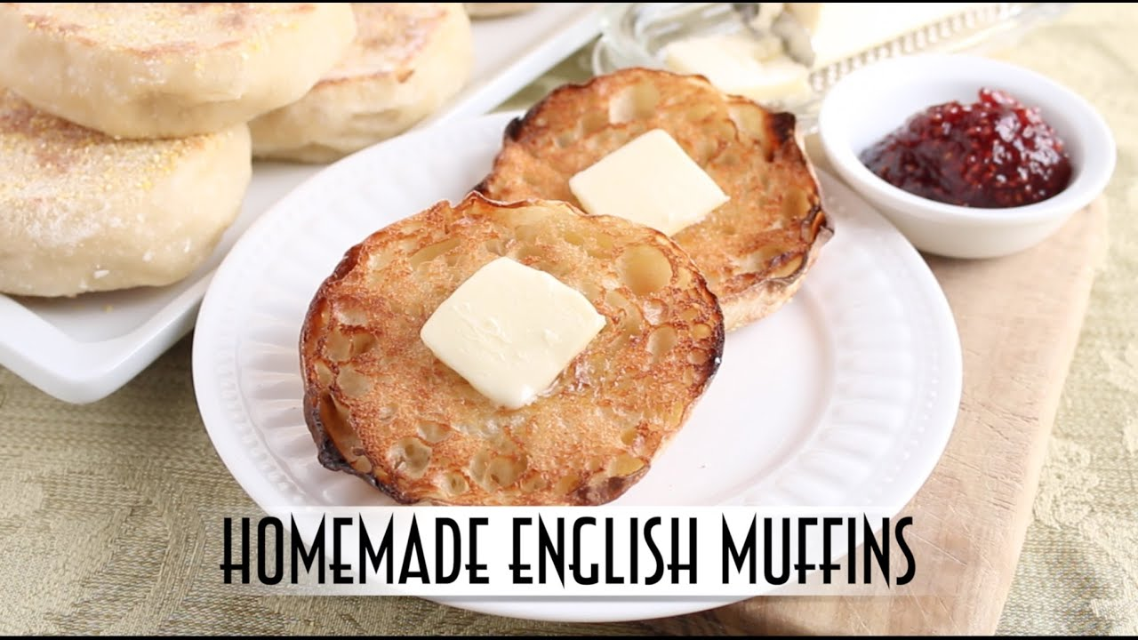 Homemade English Muffins | Straight Dough Method