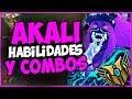 GUIA AKALI DEFINITIVA: RUNAS, BUILD, FAST COMBOS, HABILIDADES | League of Legends