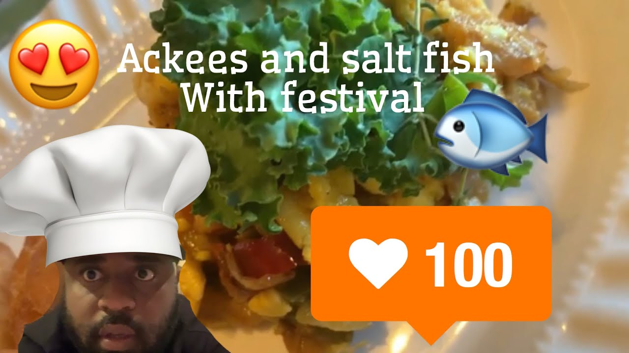 Download Ackees and salt fish  with festival 🦠🔫