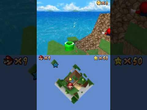 "[TAS] Super Mario 64 DS - Klepto the Condor (15""48)"
