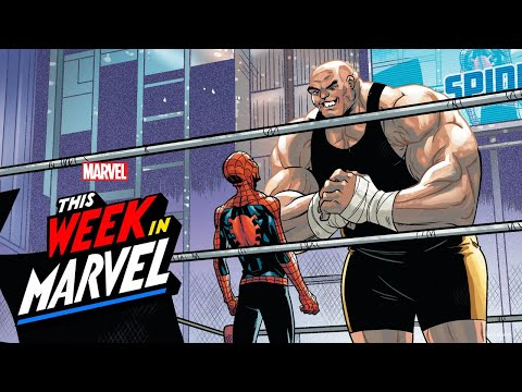 Spider-Man Rap Battle with James Monroe Iglehart! | This Week in Marvel