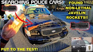 Searching Police Cars! Found Javelin Rockets! Crown Rick Auto