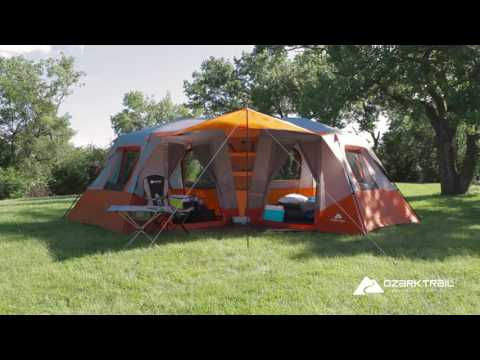 Instant Cabin Tent 10 Person, Ozark Trail