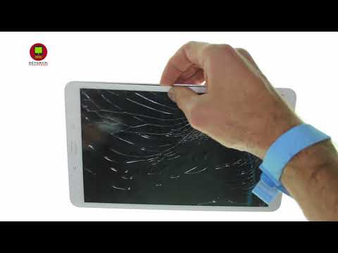 5b7feb90c6f25 Tuto Remplacement vitre écran tactile Tablette Samsung Galaxy Tab A6 10.1 SM-T580  HD - YouTube