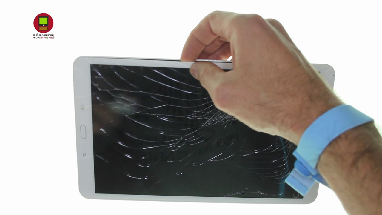 tuto remplacement vitre cran tactile tablette samsung. Black Bedroom Furniture Sets. Home Design Ideas