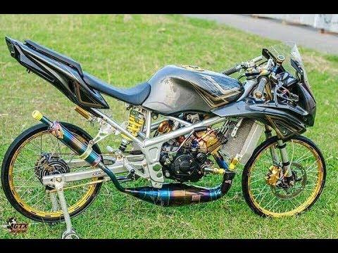 Modifikasi motor kawasaki ninja rr,r simpel tapi keren