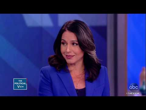 Rep. Tulsi Gabbard says Trump is 'inciting Racism' | The View