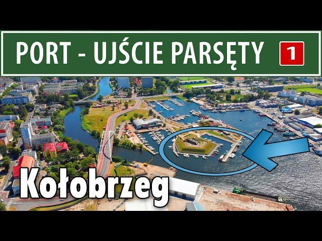 KOŁOBRZEG ➤ port - ujście Parsęty (opis łowiska)