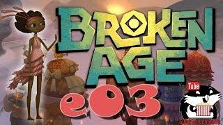 """Broken Age: Act 1 - Vella Прохождение e03 """"Золотые яйца"""" с Сибирским Леммингом"""