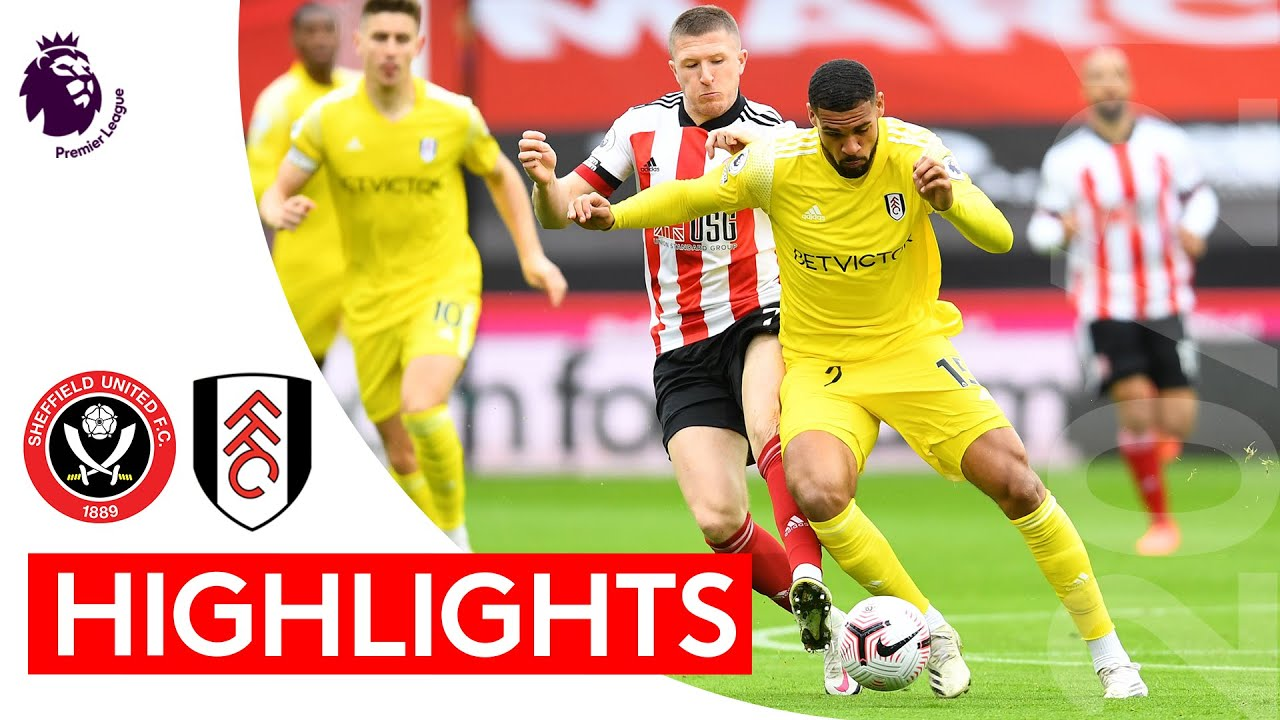 Шеффилд Юнайтед  1-1  Фулхэм видео