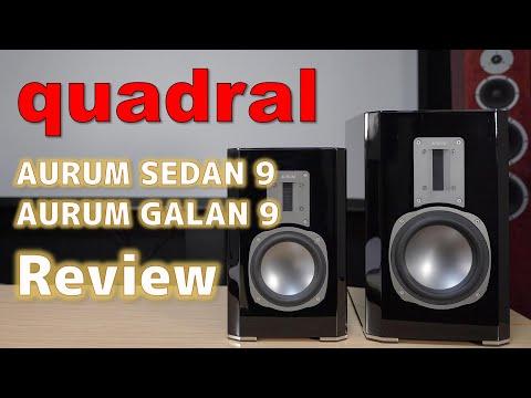 【レビュー・空気録音あり】quadral AURUM SEDAN 9 / GALAN 9 外観・仕様・音質 Review / Sound Test