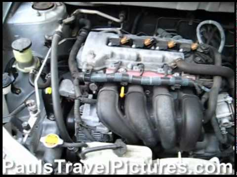 toyota corolla 1zz fe engine idling after timing chain tensioner replacement oil leak repair. Black Bedroom Furniture Sets. Home Design Ideas