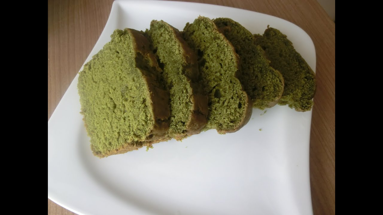 Vegan Matcha Birthday Cake