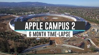 APPLE CAMPUS 2: 6 Month Time Lapse 4K