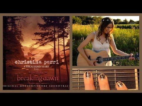 "❤ ""A Thousand Years"" - Christina Perri Guitar Lesson   Guitar Goddess ❤"