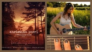 "❤ ""A Thousand Years"" - Christina Perri Guitar Lesson 