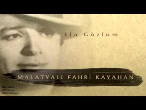 Malatyalı Fahri Kayahan - Ela Gözlüm [ Sarı Kurdela © 2000 Kalan Müzik ]