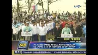 17th Asian Games, pormal nang bubuksan sa Incheon, South Korea (SEP192014)