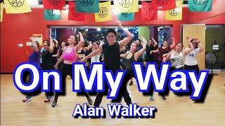 [POPDANCE™] On My Way - Alan Walker, Sabrina Carpenter & Farruko | Dance Fitness |