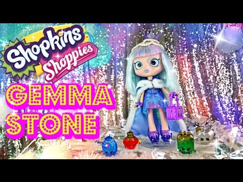 Gemma Stone Shopkins Shoppies Doll with Limited Edition Exclusive Surprise Blind Bags