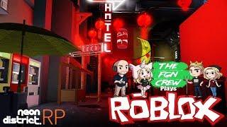 Rappresentazione dell'equipaggio di FGN: ROBLOX - Neon District