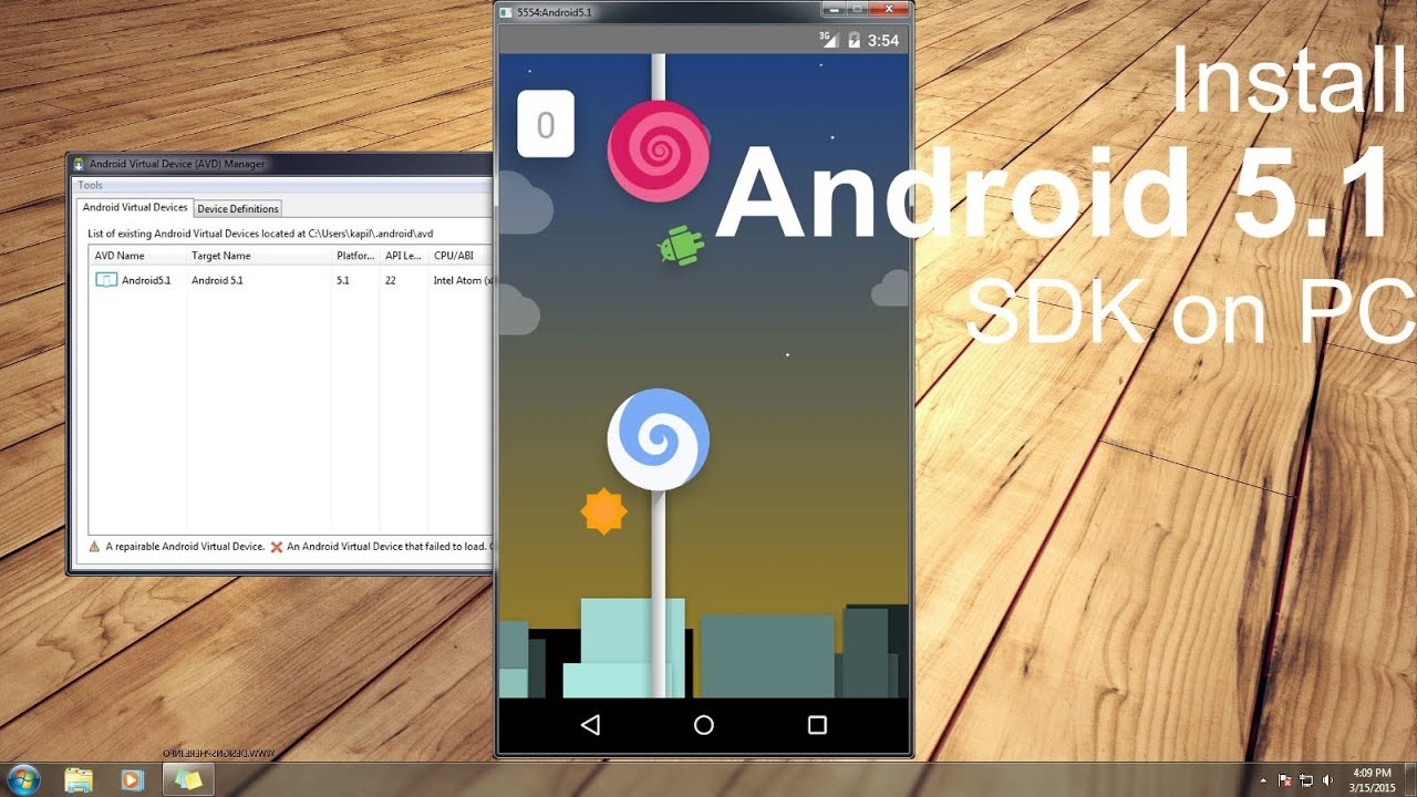 download java emulator for android 5.0