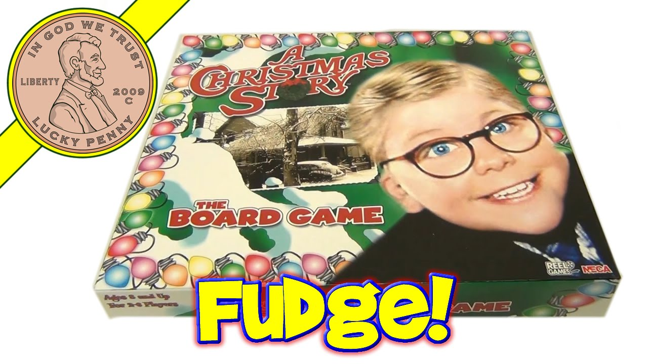 A Christmas Story Movie Family Fun Board Game - Red Rider BB Gun ...