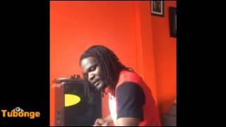 rapper na mwana hip hop fid q akiwa studio ku record ngoma yake ya rn b