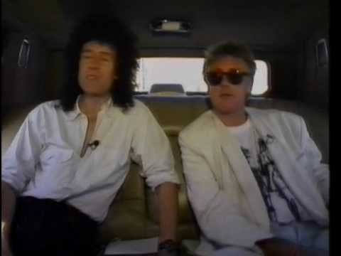 Queen - Brian May & Roger Taylor - 1989