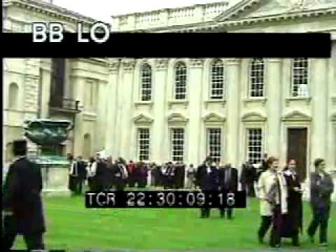 Cambridge 1 - England - People, Buildings and Bridges - Best Shot Footage - Stock Footage