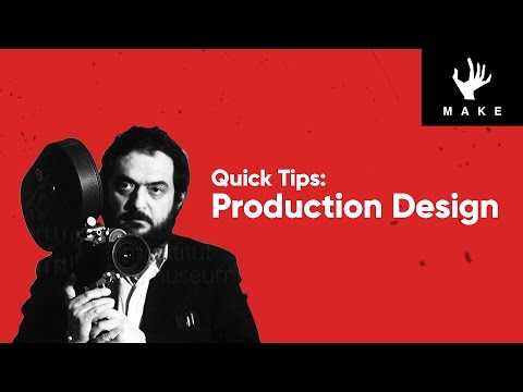 Stanley Kubrick | Production Design | Quick Tips
