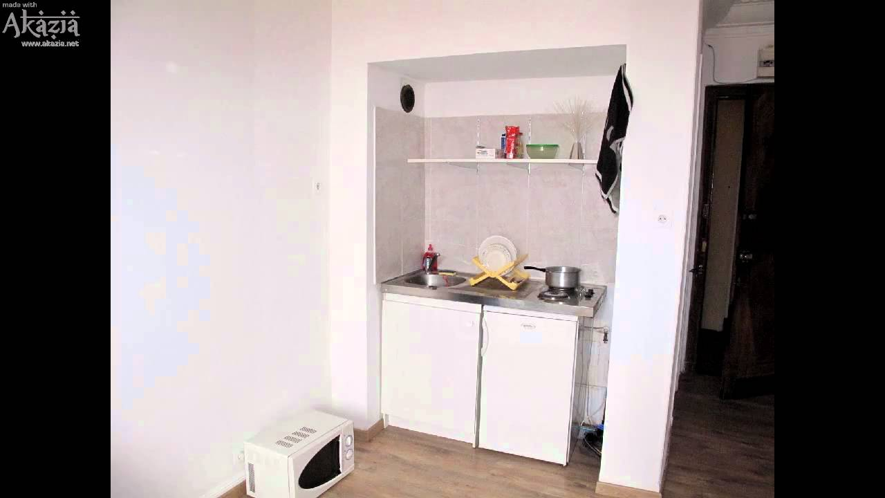 Studette entierement renovee youtube - Amenagement studette 10m2 ...