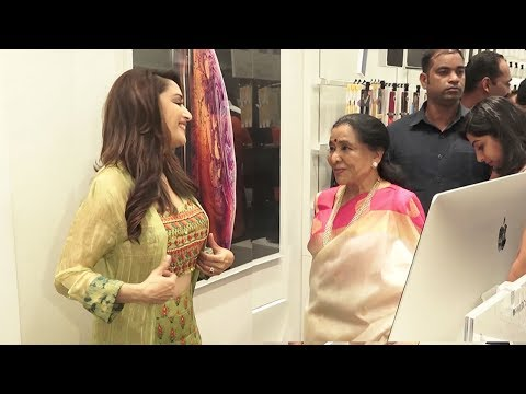 When Madhuri Dixit Met Asha Bhosle At An...