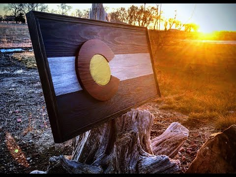 How I Made A Rustic Colorado Flag
