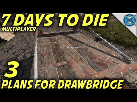 "7 Days to Die -Ep. 3- ""Plans For Drawbridge"" -Multiplayer w/GameEdged Let's Play- Alpha 15 (S17)"