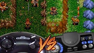 Sega Genesis Vs PC Engine CD - Gain Ground