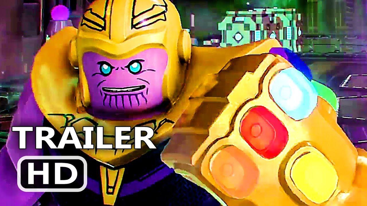 Ps4 Lego Marvel Super Heroes 2 Avengers Infinity War Trailer