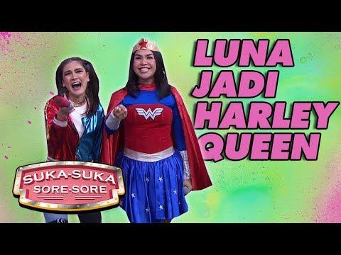 KEREN! Luna Maya Jadi Cosplayer HARLEY QUEEN - Suka Suka Sore Sore (15/1) PART 1