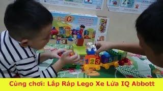 Cùng chơi: Lắp Ráp Lego Xe Lửa IQ Abbott