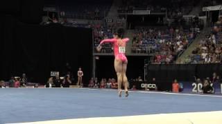 Lauren Hernandez- Floor Exercise - 2016 P&G Gymnastics Championships – Sr. Women Day 1