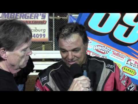 Williams Grove Speedway 410 Sprint Car Victory Lane 05-13-16